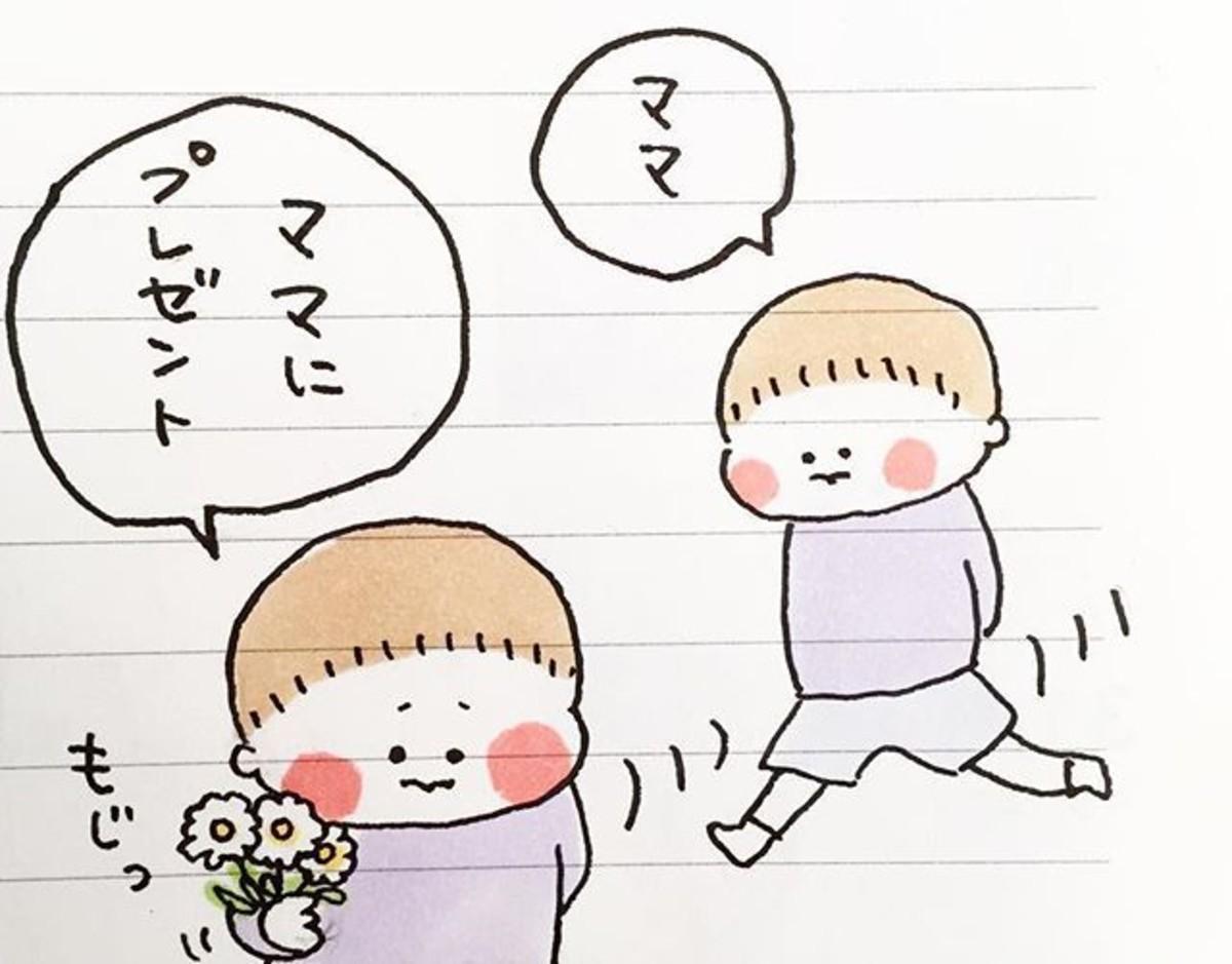 かわいいのに笑っちゃう!?ヒビユウ(@hibi_yuu)さんの育児日記 [ママリ]