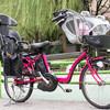 イマドキの自転車用チャイルドシートはおしゃれ!前・後ろ用あわせてご紹介