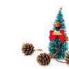 松ぼっくりでクリスマスツリーを手作り!子供とできる簡単工作