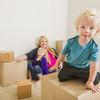 段ボールキットはママにも人気!組み立てや移動が簡単、子供が喜ぶ段ボールキット
