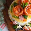 ママリオリジナル!ひな祭りにぴったり、ボウルで作る「ちらしずしケーキ」レシピ