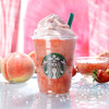 2018年夏のスタバは桃がぎゅぎゅっ!『ピーチ ピンク フルーツ フラペチーノ』登場