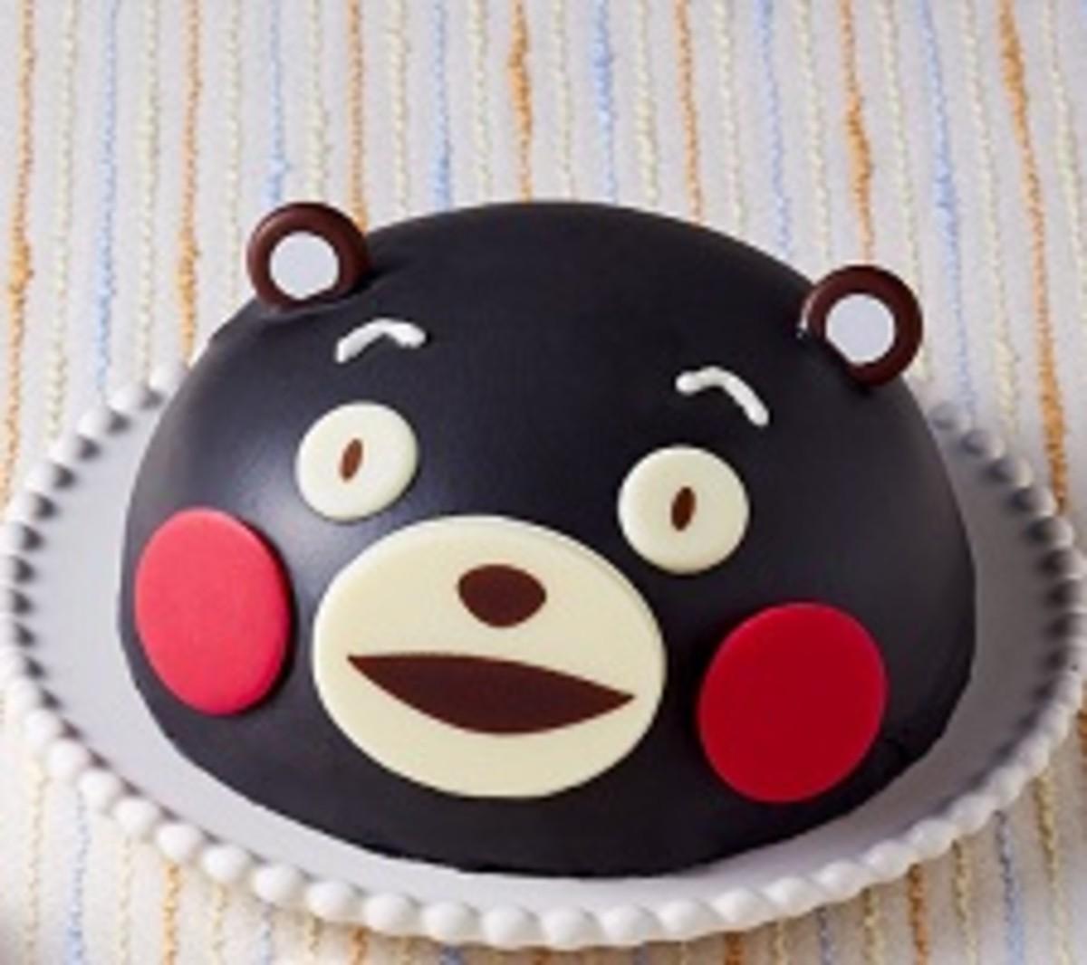 くまもんケーキ