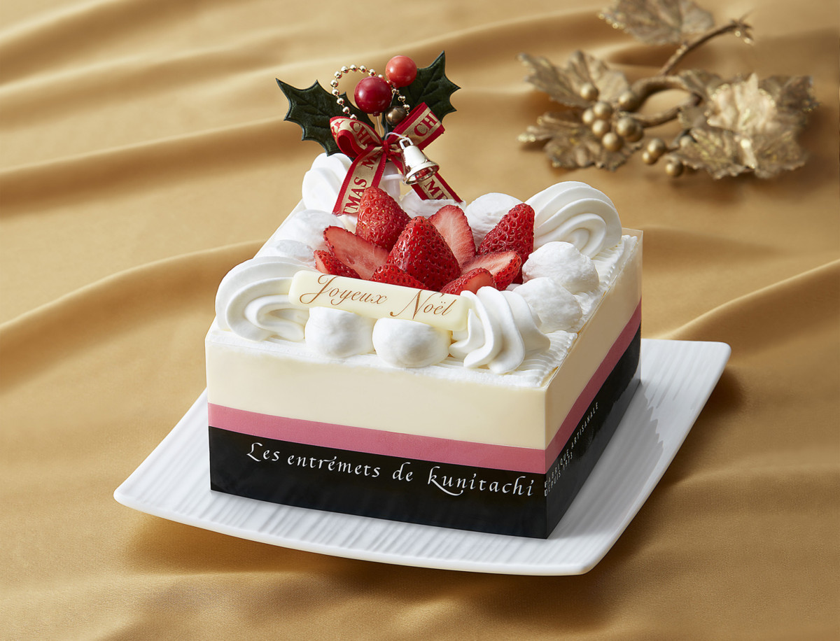 スクエアストロベリーケーキ