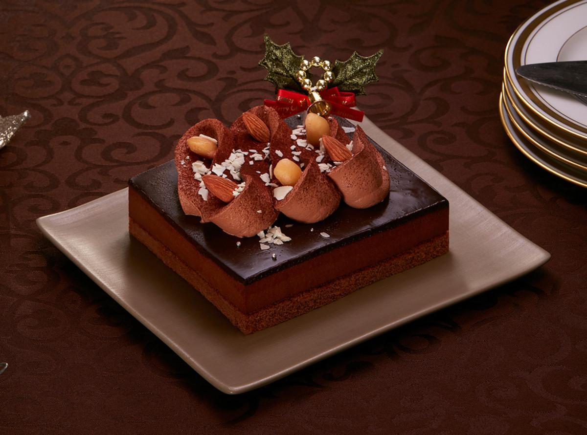 クリスマスショコラケーキ