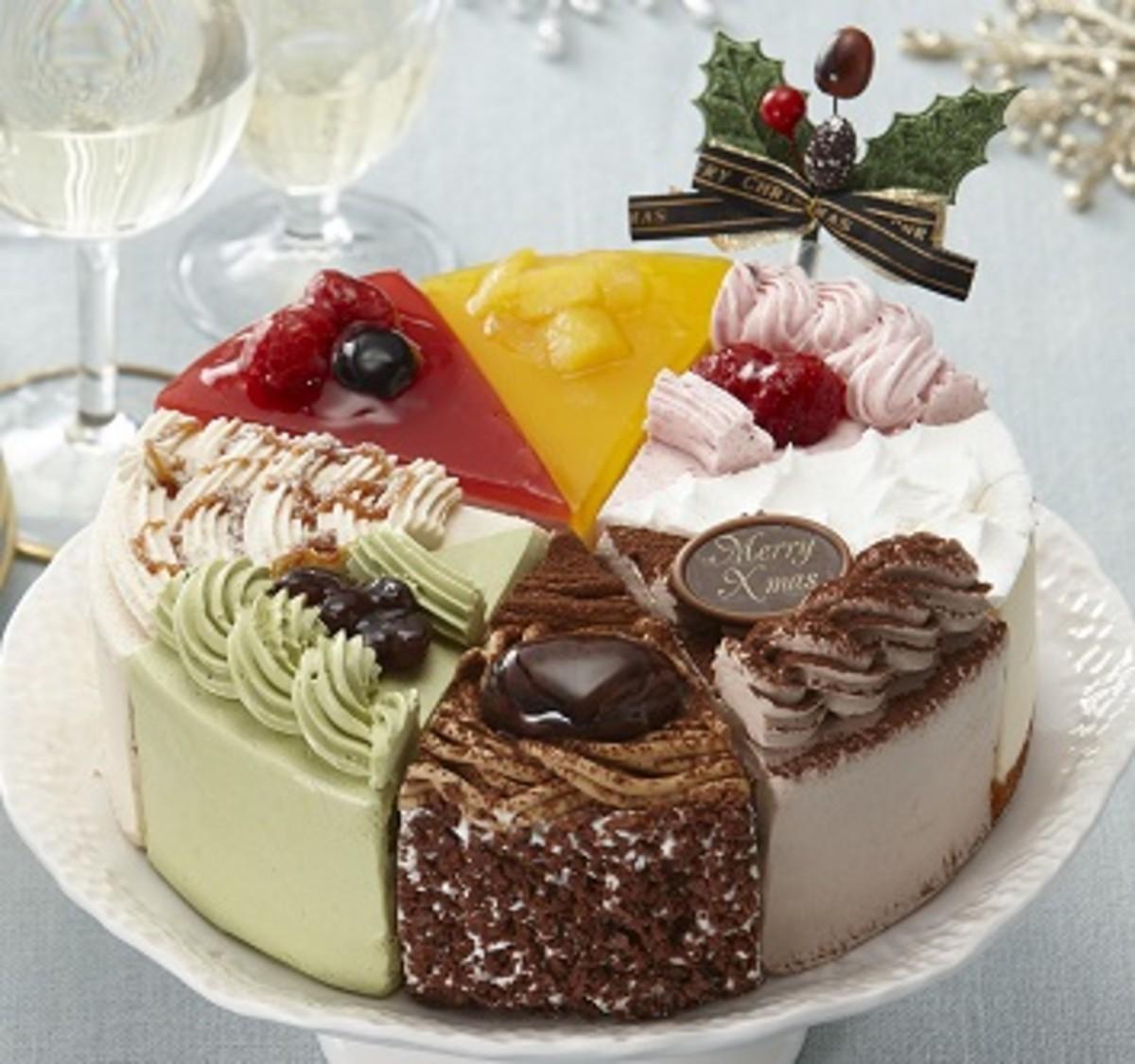 8種類のアソートケーキ6号