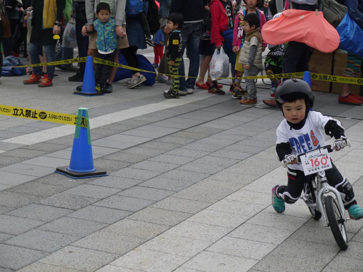 ランニングバイク レース
