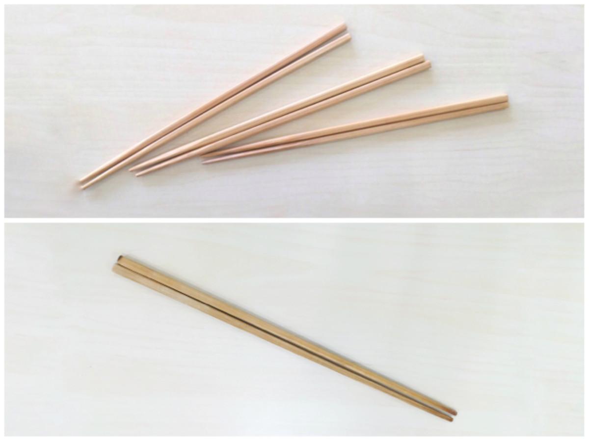 お箸と菜箸