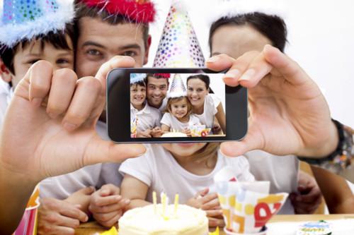 子供とアプリで写真を撮る