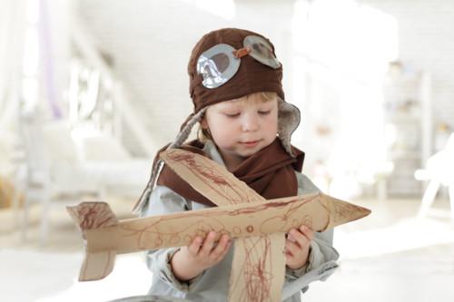 子供 飛行機