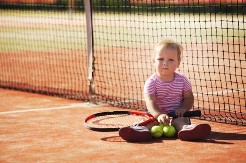 テニス 子供