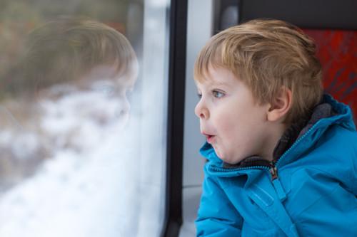 赤ちゃん 電車