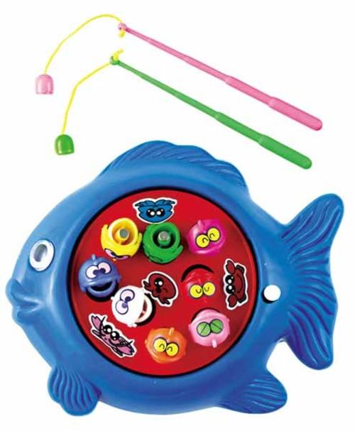 ミニミニさかなつりゲーム ゼンマイ式の小さな魚釣りおもちゃ