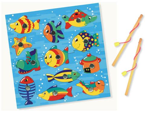 メルテン(Mertens)社の魚つりパズルおもちゃ