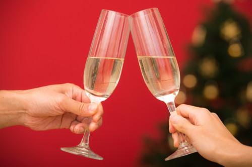 シャンパン クリスマス