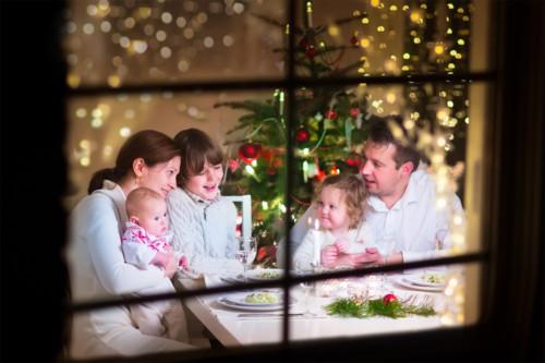 クリスマス 家族