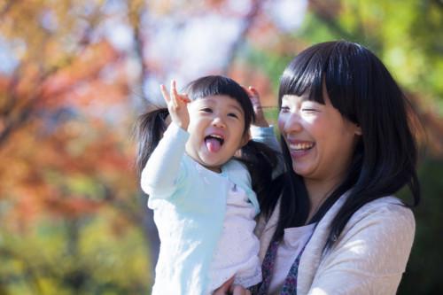 育児 笑顔
