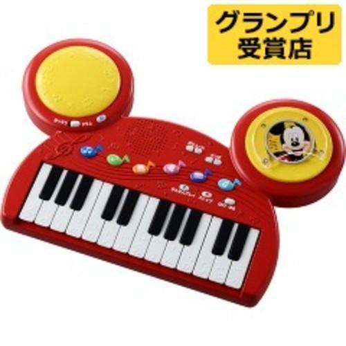 ディズニーキャラクターズ ディスクでチェンジ!キーボードドラム(1セット)