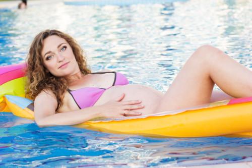マタニティ水着で夏も楽しく過ごそう♡