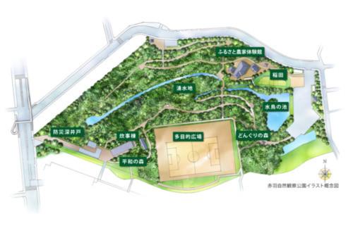 公園 赤羽 本蓮沼