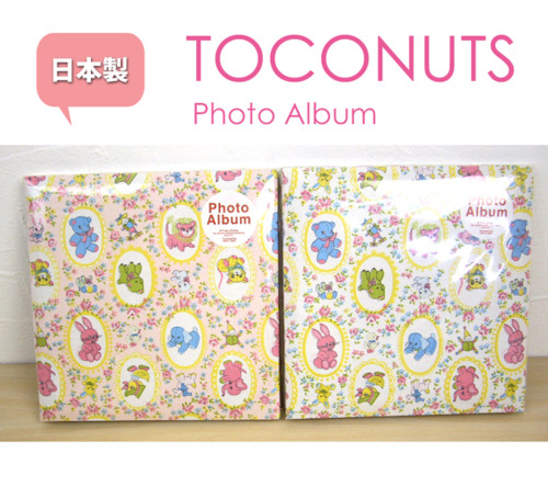 TOCONUTS(トコナッツ)トロアニマルプリントフォトアルバム