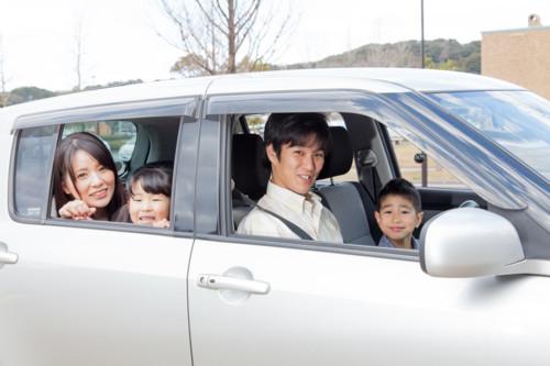 車 家族旅行