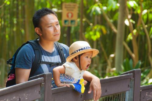 動物園 親子