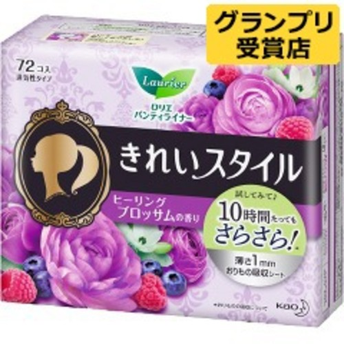 ロリエ きれいスタイル ヒーリングブロッサム香り(72コ入)【ロリエ】