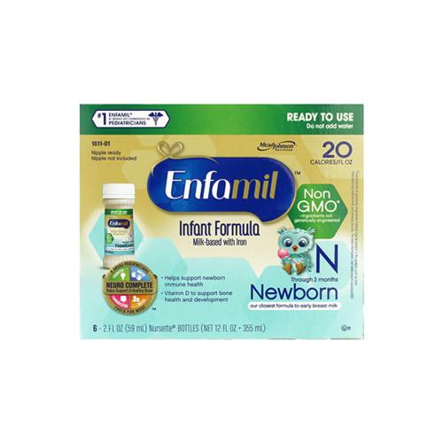 Enfamil Newborn 新生児用 液体ミルク 6本セット