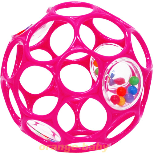 O・ball オーボールラトル ピンク