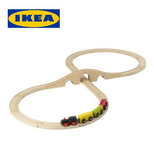 イケア IKEA LILLABO リラブー列車基本セット 20ピース玩具 おもちゃ 列車 子供 列車セット【smtb-ms】9016814602P01Oct16