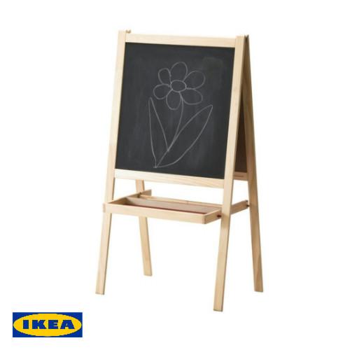 イケア IKEA 子供玩具 イーゼルソフトウッド ホワイトおもちゃ 遊具 ホワイトボード 黒板 お絵かき【smtb-ms】3016785202P01Oct16