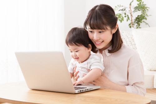赤ちゃん パソコン