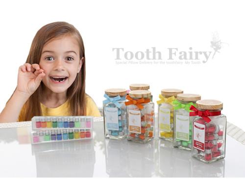 歯の妖精の瓶 乳歯ケース
