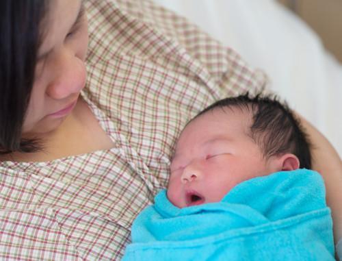 出産 ブルー