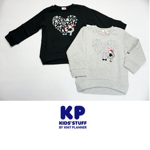 KP(ケーピー)ミミちゃん裏毛裏起毛トレーナー
