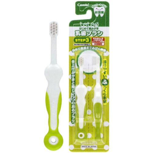 コンビ テテオ はじめて歯みがき 乳歯ブラシ STEP3