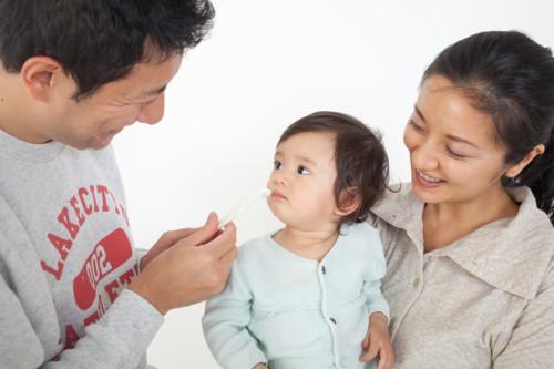 赤ちゃん 親