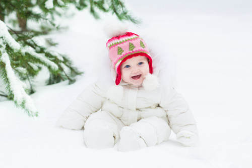 冬 赤ちゃん