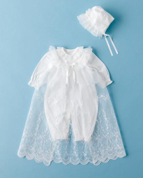 赤ちゃんの城 フード付きセレモニードレス