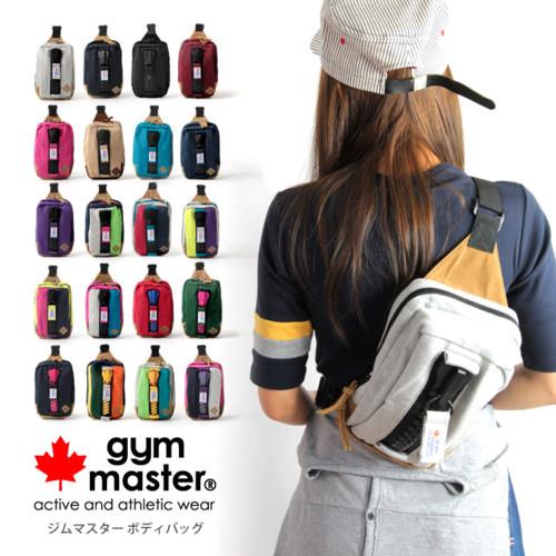 【MAX20%クーポン対象】(gym master ジムマスター)ボディバッグ ワンショルダー メガジップ スウェット 男女兼用 レディース メンズ gym master ジムマスター (g239572)