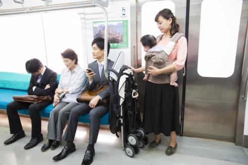 電車 子供