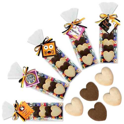 ハロウィン ハートクッキー