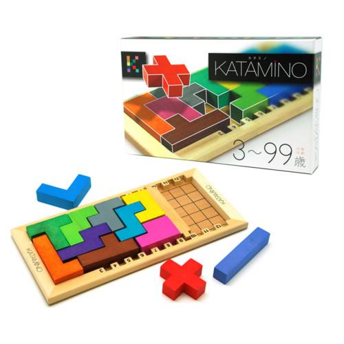 【Gigamic/ギガミック】KATAMINO(カタミノ)ゲーム/木のおもちゃ