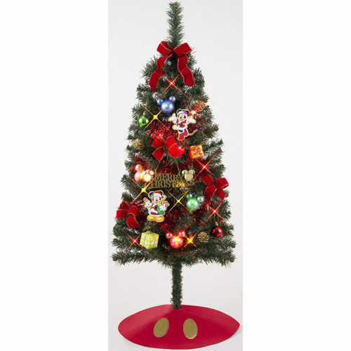 ディズニークリスマスセットツリー  120cm