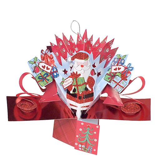 クリスマス プチポップアップカード サンタ