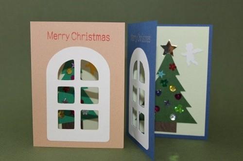 窓 グリーティングカード