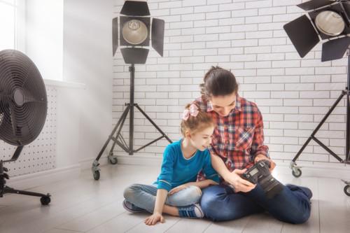 子供 スタジオ カメラ