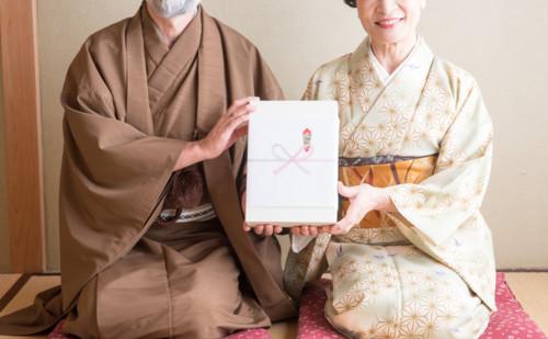 贈り物 日本人