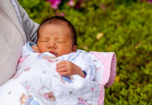 退院 赤ちゃん
